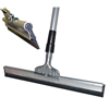 "18"" Rubber Squeegee + Handle"